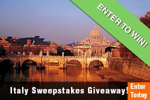 Enter our Italy Sweepstakes Giveaway from Trafalgar